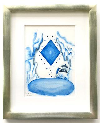 青の洞窟と死神のカード
